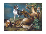 Still Life of Dead Game with Hounds  1730