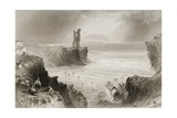 Ballybunnion  County Kerry  Ireland  from 'scenery and Antiquities of Ireland' by George Virtue …