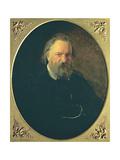 Portrait of Aleksandr Ivanovich Herzen (1812-70)  1867