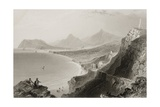Killiney Bay  County Dublin  Ireland  from 'scenery and Antiquities of Ireland' by George Virtue …