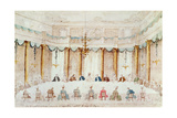 Festive Dinner Given to Celebrate the Marriage of Armand (1771-1847) Duke of Polignac to the…