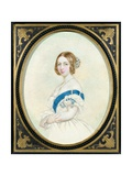 Portrait of Queen Victoria (1819-1901)  C1846