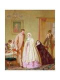 The Wedding Breakfast  1862