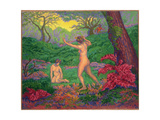 The Faun and Spring  1895