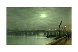 Battersea Bridge by Moonlight