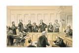 Scenes in the Liberal Union  No 4 the Magistrate and the Refractory Casuals  from 'St Stephen's…