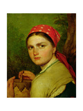 Girl with a Birch-Bark Jar  C1824