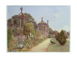 The Gardens at Montacute  Somerset  1893
