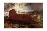 The Colosseum  Rome  1860