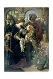 Othello  Desdemona and Emilia  1867