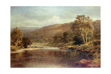 Welsh River Scene
