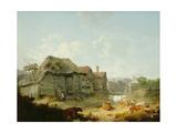 A Farmyard  Otford  Kent  1793