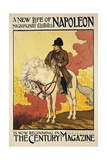 Reproduction of a Poster Advertising 'A New Life of Napoleon'  Illustrated in Century Magazine