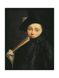 Young Lady in a Tricorn Hat  C1755-60