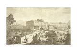 Villa Palmieri  Fiesole  from 'Vedute Delle Ville Et D'Altri Luoghi Della Toscana'  Engraved by…