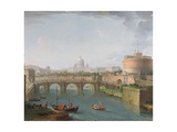 View of the Tiber  C1700-77