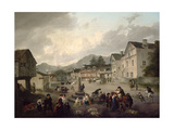The Market Place at Ambleside  1817