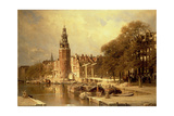 View of the Kalk Market  Amsterdam