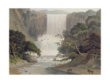 Cascade on Sneuwberg  Plate 25 from 'African Scenery and Animals'  Engraved by the Artist  1805