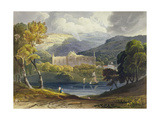 North View of Tintern Abbey from 'Picturesque Illustrations of the River Wye'  1818