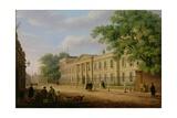 View of Emmanuel College  Cambridge University