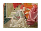 The Birth of the Virgin  Detail of a Seated Maid Servant  from the Fresco Cycle of the Lives of…