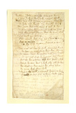 FLv Ode to a Nightingale  Poem by John Keats (1795-1821) Page:1  Verso  1819