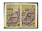 Ms343F15V-16R the Mosques at Medina and Mecca  from 'Reasons for Charity'  by Mustafa…