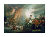 The Defeat of the Floating Batteries at Gibraltar  September 1782  1783-91