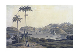 A View of the Town of St George on the Island of Grenada  Taken from the Belmont Estate …