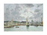 Trouville Harbour  1880