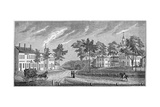 Central Part of Greenfield  from 'Historical Collections of Massachusetts'  by John Warner…