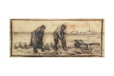 The Potato Harvest  from a Series of Four Drawings Representing the Four Seasons