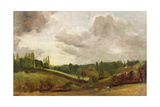 View of East Bergholt  C1813