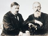 Photograph of Glazunov and Rimsky-Korsakov