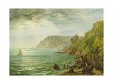 Salcombe Estuary  South Devon  1882