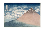 South Wind  Clear Dawn  from the Series '36 Views of Mount Fuji'  C1830-1831
