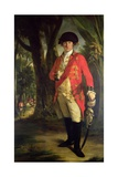 "Portrait of Major-General Horton Briscoe (1741-1802)  ""The Meritorious Officer""  C1773-76"