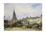 The Market at Sainte-Catherine  Honfleur