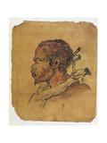 Slave in a Wood Yoke  C1840