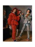 Three Boys Merry-Making  C1629