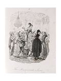 The Masquerade Scene  from 'Amelia'  Engraved by the Artist  Illustration from 'The Works of…