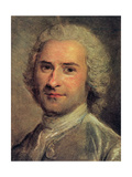 Portrait of Jean Jacques Rousseau  1712-78