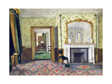 Michael Faraday's Flat at the Royal Institution  1850-55