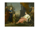 Moses Brought before Pharaoh's Daughter  1746