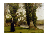 George Herbert (1593-1633) at Bemerton  1860