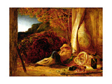 The Sleeping Shepherd  1834