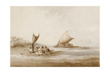 Boats of the Friendly Islands  from 'Views in the South Seas'  Pub 1791