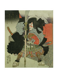 The Actor Ichikawa Danjuro VII as a Samurai Warrior