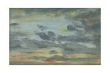 Sky Study  Sunset  1821-22